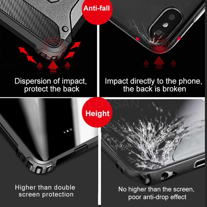 יוקרה שריון עמיד הלם מקרה על לxiaomi Redmi 7 8A הערה 8T 7 פרו 5 בתוספת רך מקרה כיסוי עבור Xiaomi Pocophone F1 בחזרה מקרה