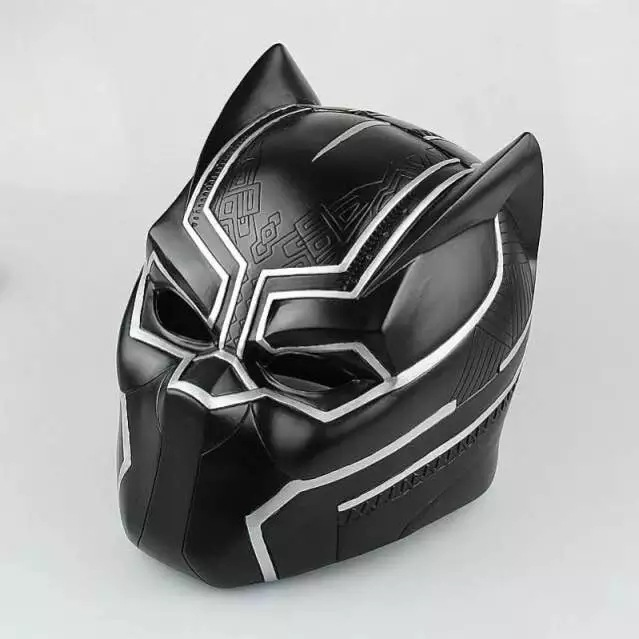 NEW hot Avengers Black Panther Mask cosplay collectors action figure toys Christmas gift doll 6000lumens bike bicycle light cree xml t6 led flashlight torch mount holder warning rear flash light