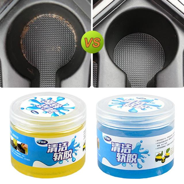 Car Air Vent Cleaning Glue Slime Jelly Gel Compound Dust Wiper Cleaner or Laptop PC Computer Keyboard Car Interior Cleaner Tool