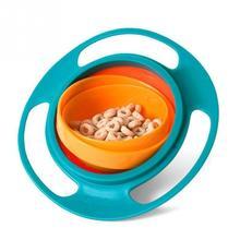 Влагозащищенная bowl практичный блюда поворот универсальная малыш дизайн игрушки детские дети