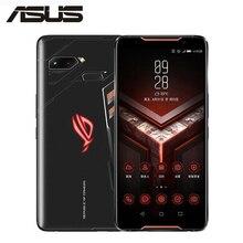 ASUS ROG телефон Глобальная версия ZS600KL игровой 6,0 «18:9 экран 4 г LTE 8 ГБ 128 Snapdragon 845 OctaCore 4000 мАч Android 8,1