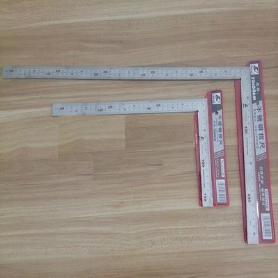 STARPAD Для Шуй футов нержавеющей стали 150 Х 300 ММ/250 Х 500 ММ стали угол L-прямоугольной формы colt Измерительные Инструменты