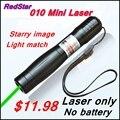 [ReadStar] RedStar 010A высокой мощности 1 Вт зеленая лазерная указка лазерная ручка звезды pattern cap лазерная только без 16340 аккумулятор и зарядное устройство