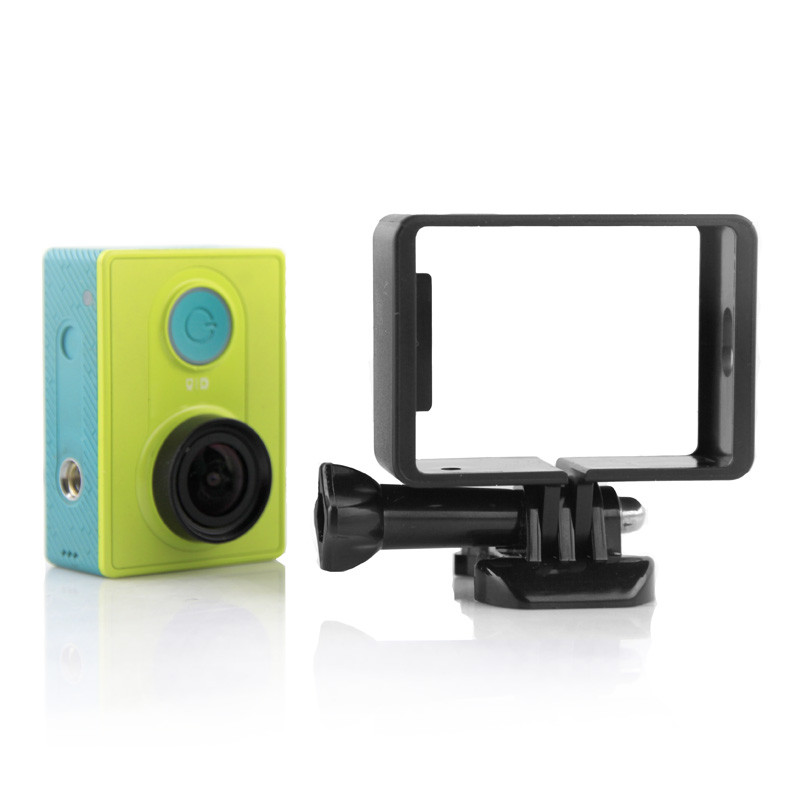 Portable Protective Frame for Xiaomi Yi Xiaoyi Camera w/ Quick Release Buckle Mount Base for Xiaomi Yi Action Camera Accessories