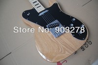 100% neue Ankunft natur E-gitarre mit Erle Korpus tele33