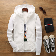 Size S-7XL European and American Station Spring Autumn Young Mens Fashion Street Style High Quality Large Jacket