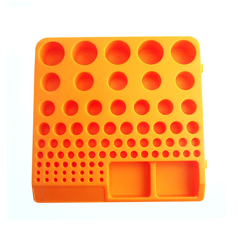 Купить с кэшбэком 1pcs Storage box for spring collet inserts collect for CNC parts collecting Collecting Box