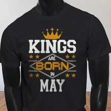 807740706 High Quality 2019 Summer New Costumes For Men Kings Born In May Crown  Birthday Taurus Gemini