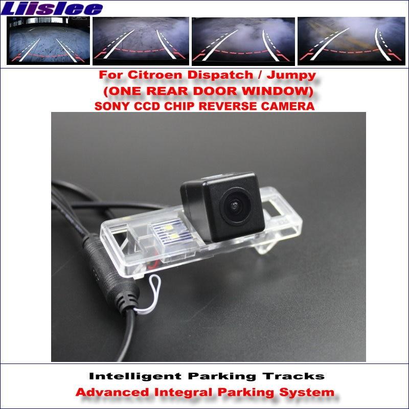 Liislee Faixas de Estacionamento Câmera Traseira Para Citroen Despacho Inteligente/Jumpy Backup Reversa/NTSC HD SONY CCD 580 TV linhas