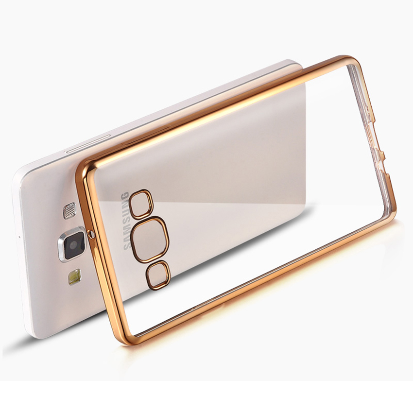 Nephy Phone Case Cover For Samsung Galaxy A3 A5 A7 2015 2016 A 3 5 7 A300F A310F A510F Duos Clear TPU Silicon Ultrathin Soft(China)