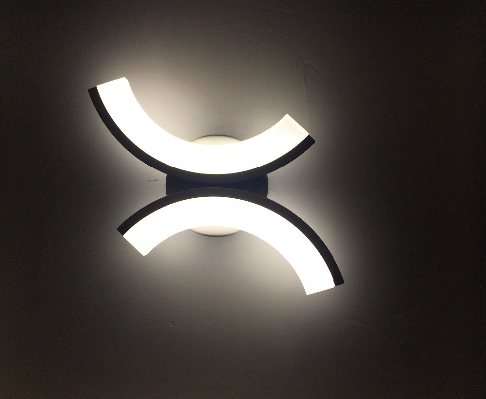 Wall night lamp online india - Creative Design Led Wall Sconces Bathroom Bedside Light Wall Mount Wall Lighting Fixture 15w 100