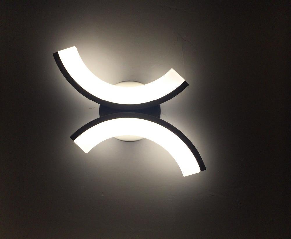 Modern bedside wall lamps - Creative Design Led Wall Sconces Bathroom Bedside Light Wall Mount Wall Lighting Fixture 15w 100