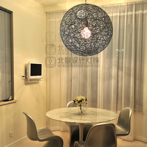 [ Scandinavian Design Lighting ] IKEA Dining Room Moooi Random Light Ma  Ball Wool Ball Chandelier
