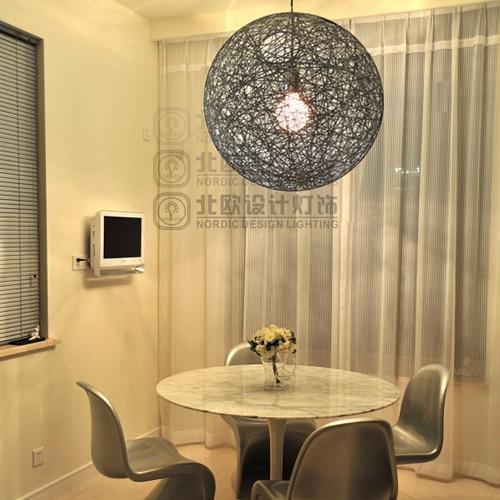 [ Scandinavian Design Lighting ] IKEA Dining Room Moooi Random Light Ma  Ball Wool Ball Chandelier