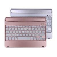 Ultra Dunne Draadloze Afneembare Folio Bluetooth Keyboard energiebesparing toetsenbord voor iPad Air1/2 Pro 9.7