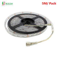 BOLEDENGYE DC24V 5050 RGB LED Strip IP68 Waterproof 5M/Roll 300LEDs Swimming Pool Light Under Waterproof Flexible Ribbon Strips