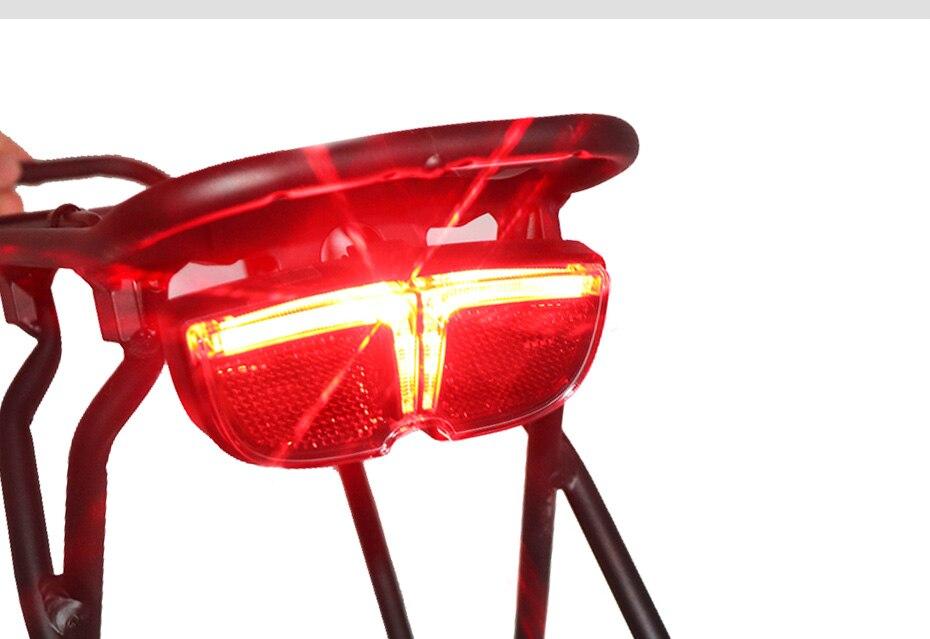 vermelho ciclismo luz acessórios da bicicleta montanha luz da cauda da motocicleta