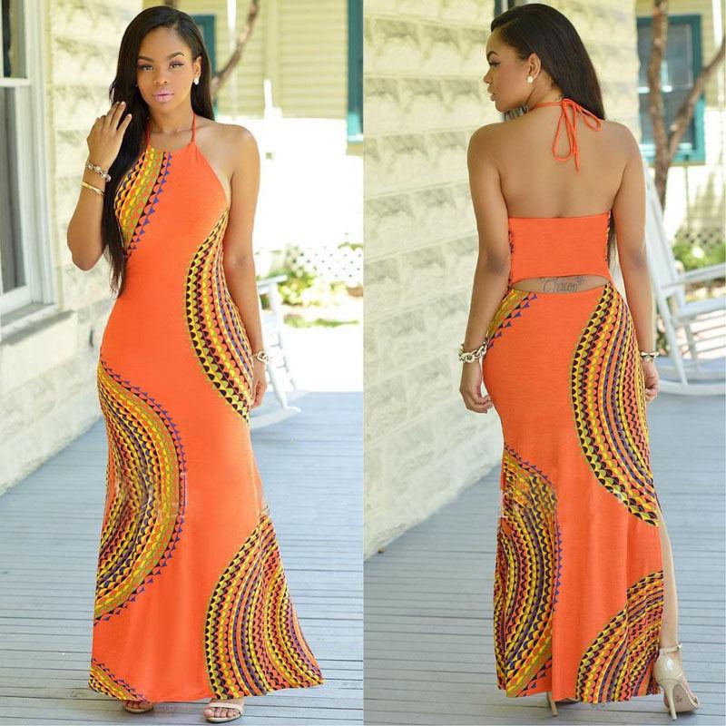 e0a73d4d1c Aliexpress.com : Buy Summer Sleeveless Flower Print Maxi Dresses Bohemian  Cute New Arrival Women's Sexy Loose Long Shift Dress drop shipping from ...