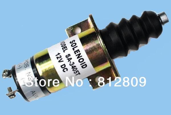 Fuel shutdown solenoid SA-3405-T/36607197/1502-12C7U2B2S1 ,+fast free shipping by TNT/DHL,UPS