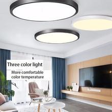 50W กันน้ำ LED เพดานแสงสวนกลางแจ้งระเบียงห้องน้ำ Villa Foyer โคมไฟเพดานสำหรับโคมไฟ