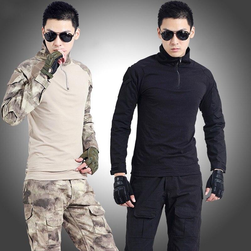 Uniformes de Camouflage CS en plein air hommes uniforme militaire tactique vêtements uniforme de Combat armée en plein air Jungle chasse Camou ensemble - 3
