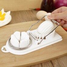 Пластиковая овощерезка двойного назначения приспособление для нарезки яиц Режущий инструмент для домашней кухни Hogard