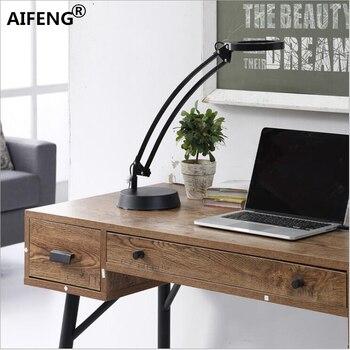 Meja lampu dengan dimmer AIFENG 8 W 600LM Keren putih Hangat putih disesuaikan dimmable led lampu meja lampu yang dipimpin studi meja kerja