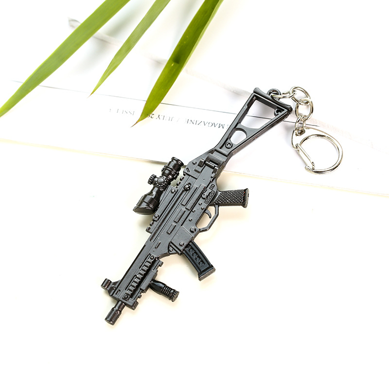 Weapon Keychains (8)