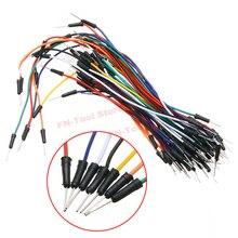 65 шт. без пайки гибкий макет PCB соединительный кабель набор проводов электрические провода