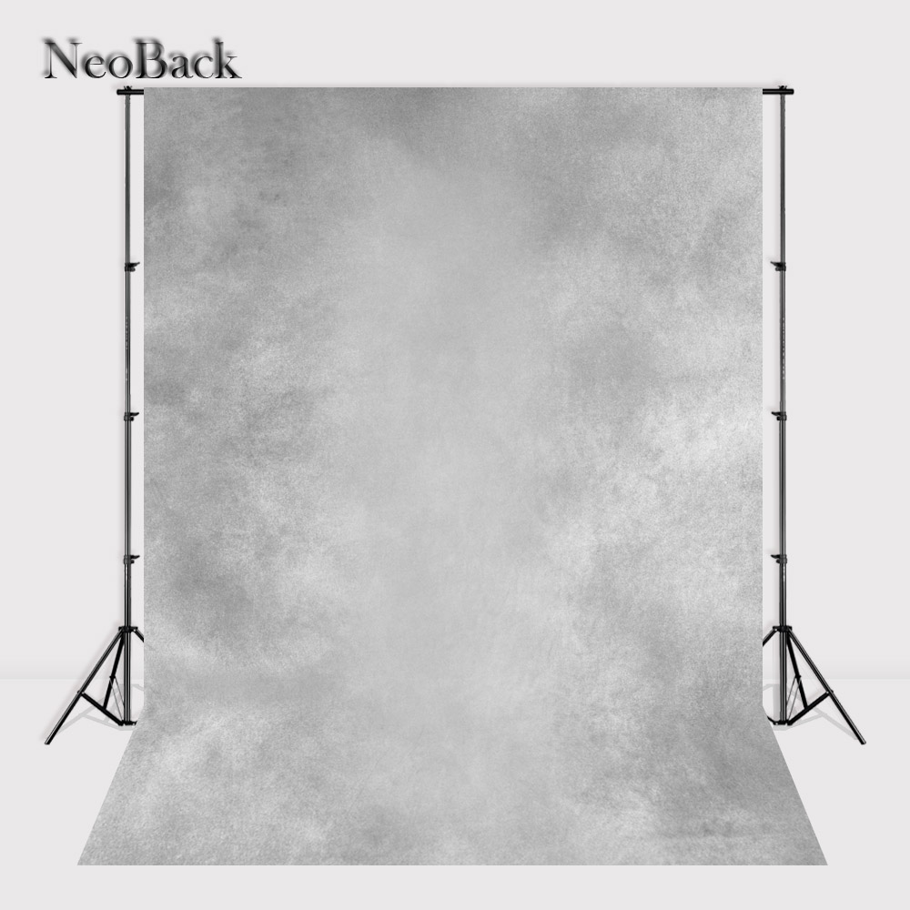 NeoBack 5x7ft Abstract vinyl Photographic Backdrops Printed Misty lite grey old master Portrait Studio Photo Backgrounds A1037