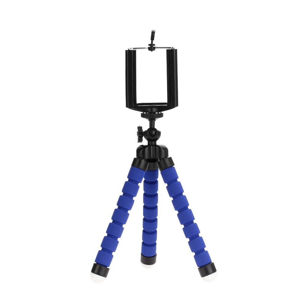 Штативы штатив для мобильного телефона держатель камеры Клип смартфон монопод Штатив мини штатив Stativ для телефона