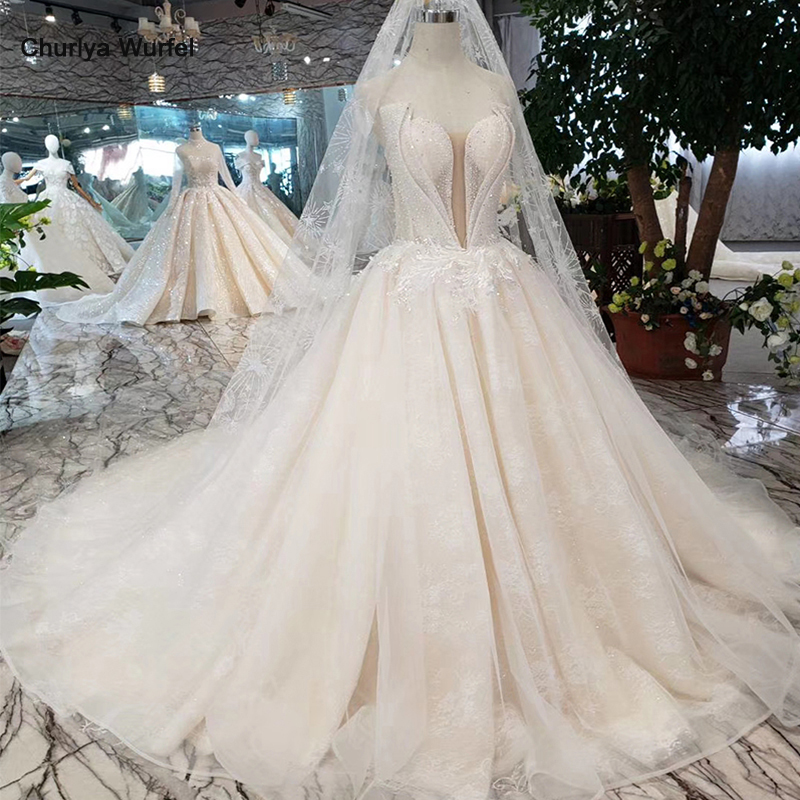 Special strapless Wedding Dress with wedding veil backless handmade beach bridal dress wedding gown A line