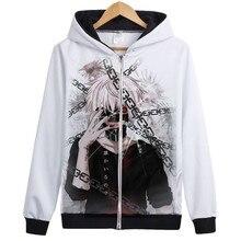 Anime Tokyo Ghoul Casual Jacket Sweatshirt