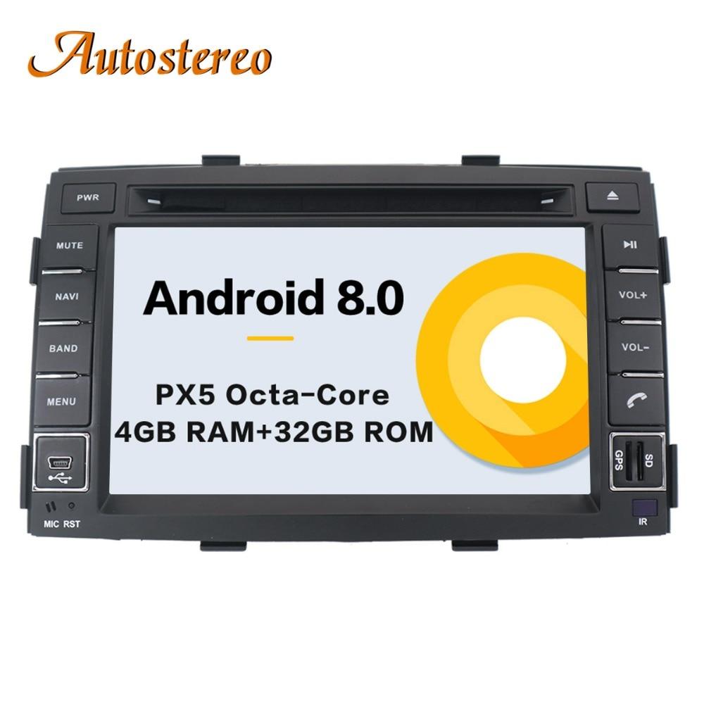 Octa 9 core Android Car CD DVD Player GPS Navigation For KIA SORENTO 2010 2011 2012