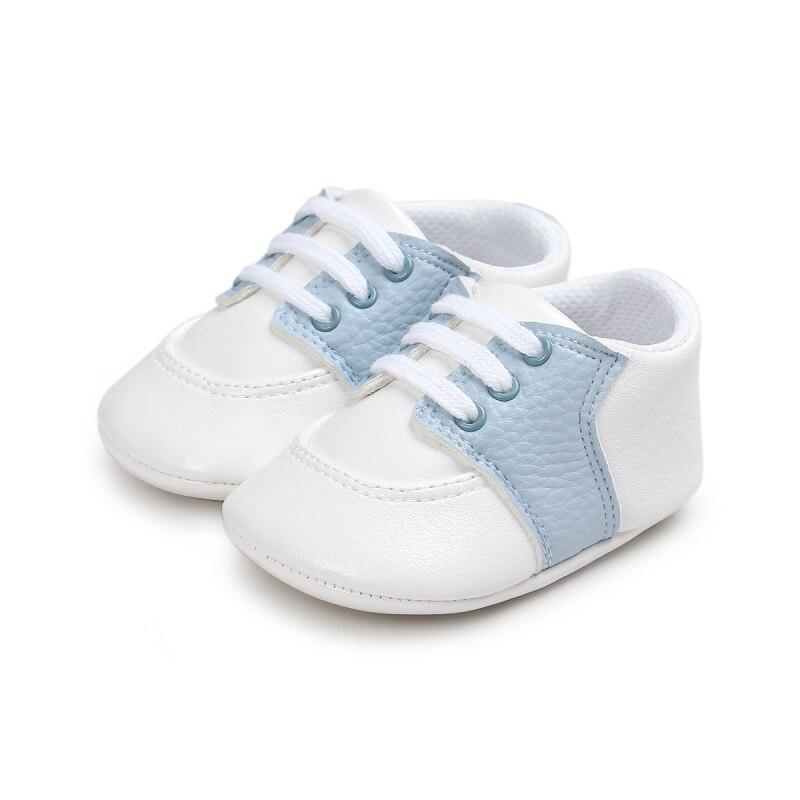 Newborn Baby Boy Girl Shoes Children PU First Walkers Unisex Casual Sneaker