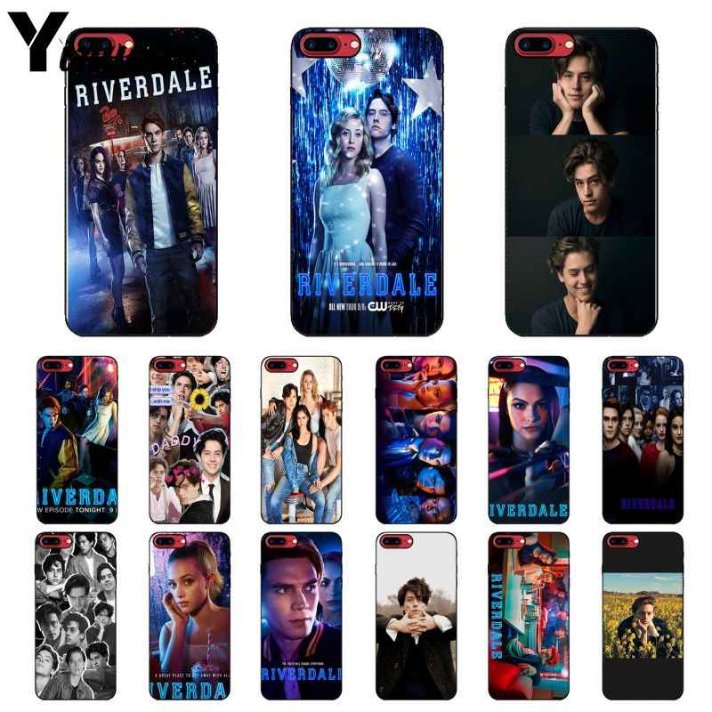 Yinuoda Hot TV show Riverdale pattern Colorful Cute Phone Case for Apple iPhone 8 7 6 6S Plus X XS MAX 5 5S SE XR Mobile Cases