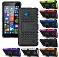 For Nokia Lumia 730 735 Case Dual Armor Defender Case For Microsoft Nokia Lumia 435 532 535 550 730 735 TPU Cover Case w/ Holder