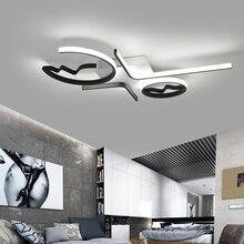 אלומיניום גל תקרת אורות מודרני LED סלון חדר שינה luminaire plafonnier שינה תקרת מנורת Lampara דה techo