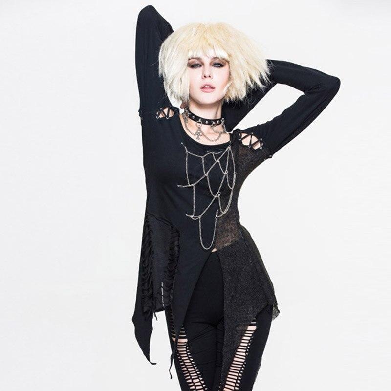 Steampunk Կանացի շապիկներ Gothic Asymmetric Flare - Կանացի հագուստ - Լուսանկար 1