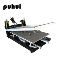 Новое поступление PUHUI PH HPP01 Высокая точность паяльная паста принтер печатной платы сварки руководство Трафаретный принтер шелк печатная ма