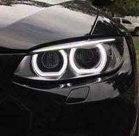 Ultra bright Crystal DTM Style LED Angel Eyes Halo Rings Light kits For BMW 1 Series E82 E88 E87 E81 2008 11 Xenon headlight