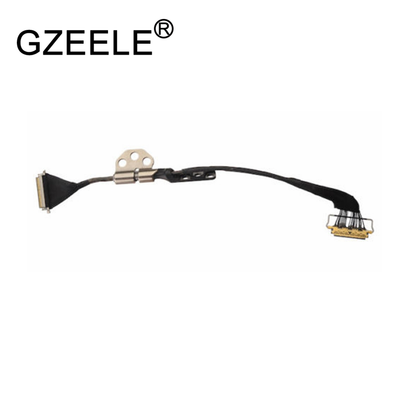GZEELE New For Apple MacBook Air A1369 13 LCD Display Screen LVDS Flex Cable + Hinges 2010-2015year  GZEELE New For Apple MacBook Air A1369 13 LCD Display Screen LVDS Flex Cable + Hinges 2010-2015year