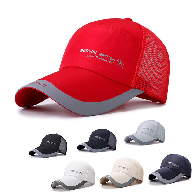 2faa6646fd7 LNRRABC Hot Sale Men s Baseball caps Multicolor Breathable Casual  Adjustable Letter Sports Mountaineering Cap For Women