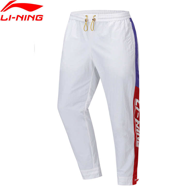 (Break Code)Li-Ning Men Sports Pants The Trend Regular Fit 100% Nylon AT PROOF SMART LiNing Li Ning Trousers AYKP249 MKY524