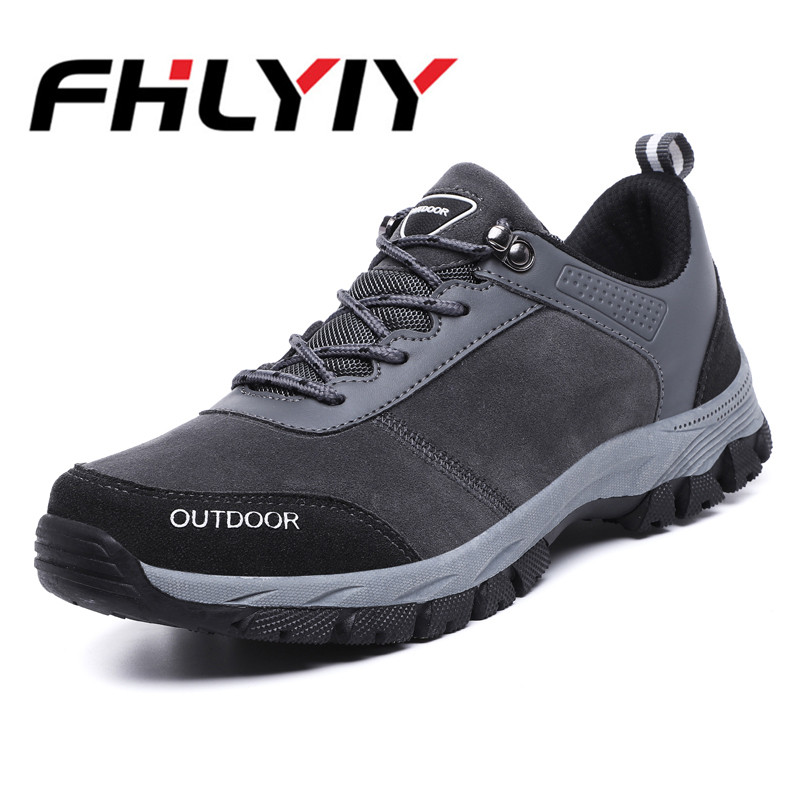 Tamaño Zapatos Aire De Moda Hombres Otoño Para Casual wearing Black Libre grey 39 Montaña Al Zapatillas 49 Los Hard Plus Hombre 1qOwq0E