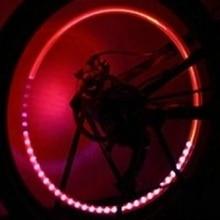 Новинка, Arroval, автомобильные аксессуары, принадлежности для велосипеда, неоновый синий стробоскоп, светодиодный колпачок для клапанов шин, огни с датчиками движения