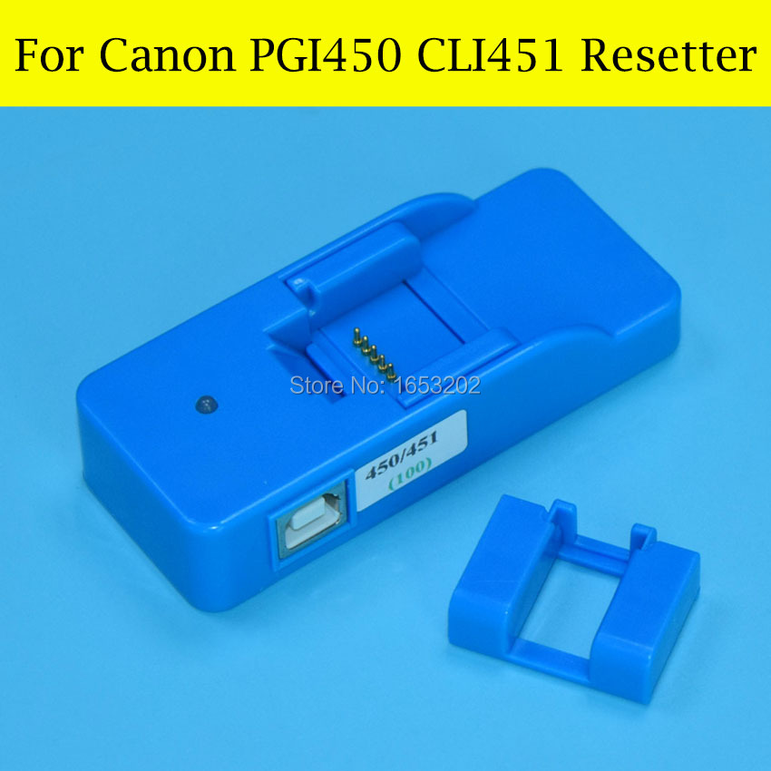 1 PC Cartridge Chip Resetter For Canon PGI450 CLI451 Use For Canon MG5440 MG6340 Ip7240 MX924 MG5540 MG6440 MG7140 Printer