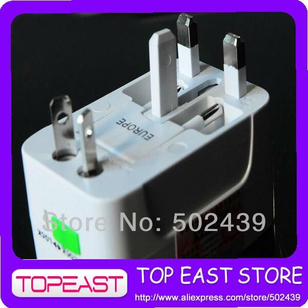 Free shipping Travel power adapter adaptor plug universal UK EU US JAPAN AUST THAI 10A 110v-250V