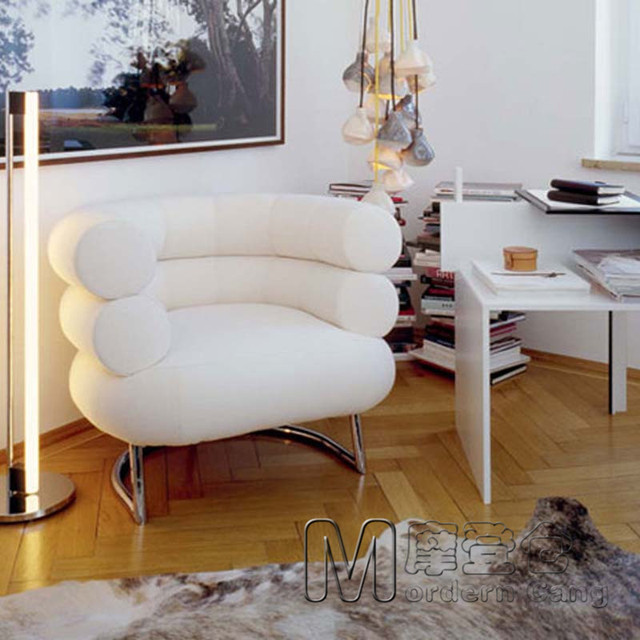 Modern Warehouse Bibendum Chair Tire Sofa Leather Lounge Stool