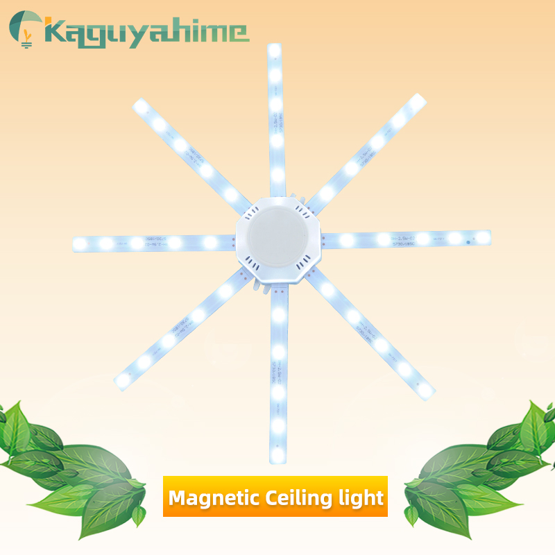 Kaguyahime Magnetic Modified Source <font><b>LED</b></font> Octopus Light 12W 16W 20W <font><b>24W</b></font> 220V <font><b>LED</b></font> Ceiling Lamp Energy Saving Bulb Tube <font><b>LED</b></font> <font><b>Module</b></font> image